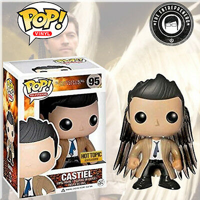 Funko Pop! Television #95 Supernatural Castiel Hot Topic Exclusive FAST SHIPPING