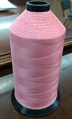 16oz Spool CONE of LIGHT PINK T70 ANEFIL Nylon #3 Sewing Thread 6000 Yards