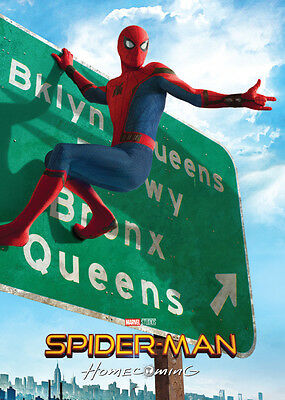 SPIDER-MAN HOMECOMING Movie Promo Card 1