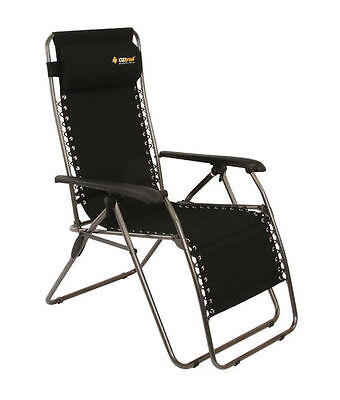 NEW OZtrail Sun Lounge Daybreak recliner camping chair - FCB-LOD