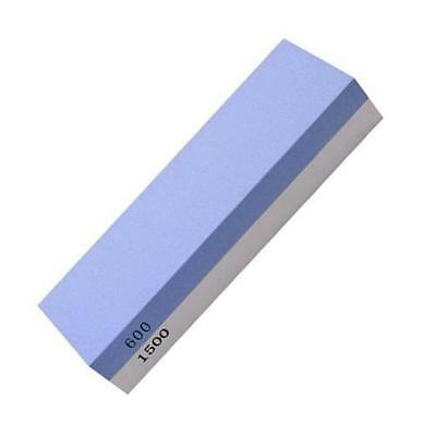 Sided White corundum Sharpening stone 600/1500 mesh, blue and white E4E1