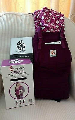 New with box Ergo Baby Carrier in Mystic Purple
