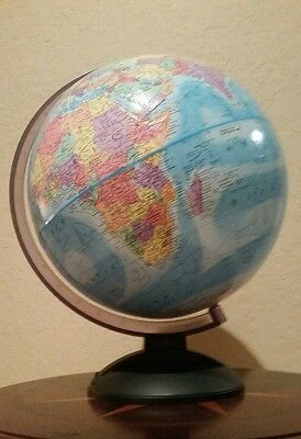 "Globemaster Legend 12"" World Globe. Great condition."