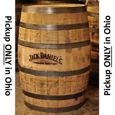 WHISKY BARREL from that FAMOUS #1 WHISKY PLACE that im not allowed to say