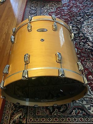 Pearl Reference 5pc. shell pack natural maple finish w cases and tom arms, mint!