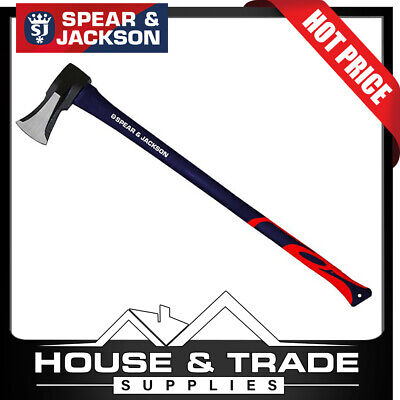 Spear & Jackson Axe Splitter Fibreglass Handle 4.5lb SJ-ASFG45