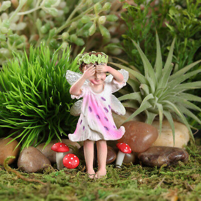 "2.25"" My Fairy Gardens Mini Figure Pick - Blanca Tiger Lily - Miniature Figurine"