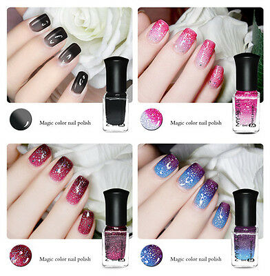 6ml Thermal Nail Polish Peel Off Temperature Color Changing Varnish Manicure