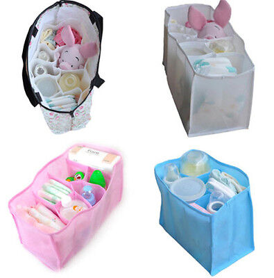Baby Portable Diaper Nappy Water Bottle Changing Storage Organizer Bag SH