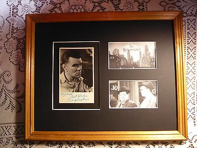 The Honeymooners Bensonhurst Bomber George Mathews Rare Signed Autographed  Coa
