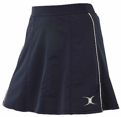 Gilbert Radius Netball Skirt, Navy, All sizes available