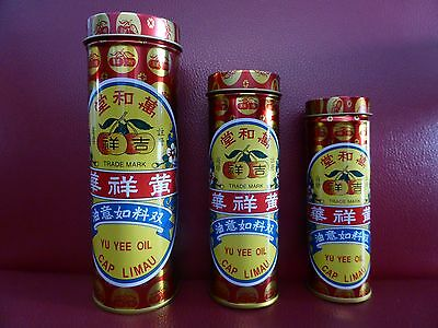 Cap Limau Yu Yee Oil Muscle Joints Ache Stomachache Cold Pain Relief