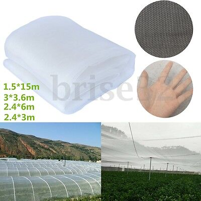 White Garden Mosquito Netting Hunting Barrier Protect Planter Insect Bird Net