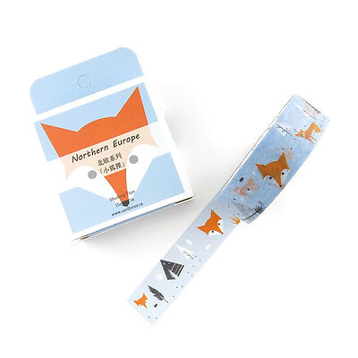 Washi Tape : Teepees & Foxes