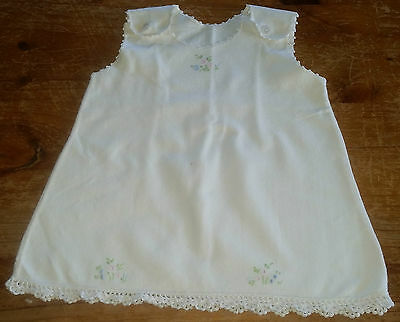 Vintage Baby Flannelette Petticoat Over 70 Years Old