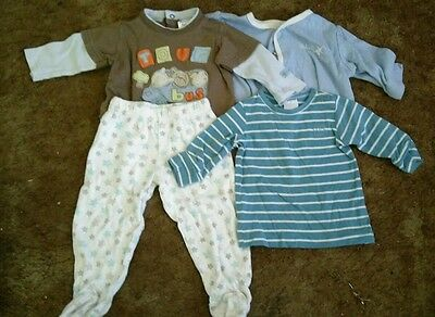 baby boys size 000 long sleeve tops and pants