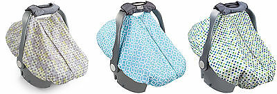 Summer Infant 2-in-1 Carry & Cover Infant Car Seat Cover, 3 Colors