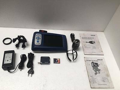 Wohler VIS 2000 Pro Inspection Camera Set With Color Camera Head Free ShippingUU