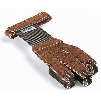 Neet Leather Shooting Gloves Tan Suede FG-2L