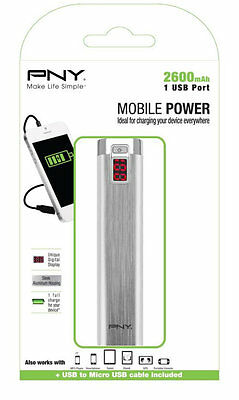 PNY PowerPack Digital 2600 iones de litio 2600mAh