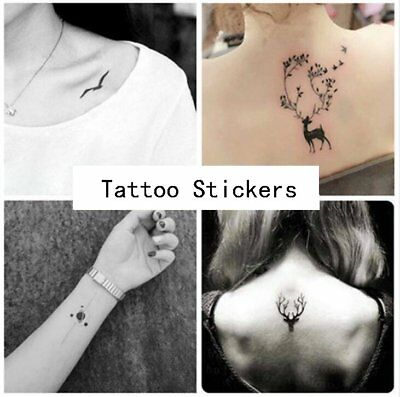 20Styles/Set Temporary Tattoos Paper for Women Body Art Tattoo Stickers Fake