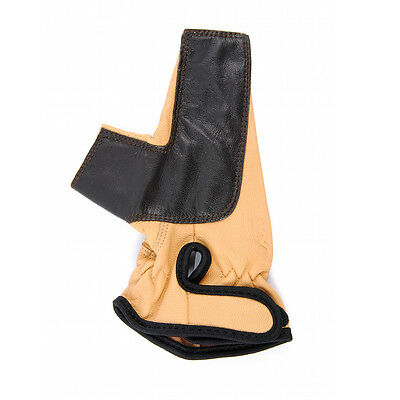 Bearpaw Leather Gloves for Archery Traditional Bow