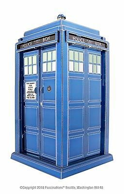 Metal Earth Doctor Who Tardis Police Box 3D Laser Cut DIY Model Hobby Build Kit