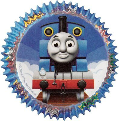 Wilton - Thomas & Friends Birthday Party Cupcake Cake Cases (Pack Of 50)