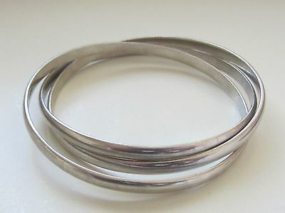 Gorgeous Womens *oroton* ~Vintage~Heavy Sterling Silver~ Bangle *extremely Rare*