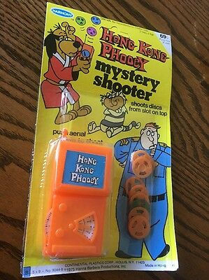 Vintage 1976 Hong Kong Phooey-Hanna Barbera Mystery Shooter- New Old Stock !