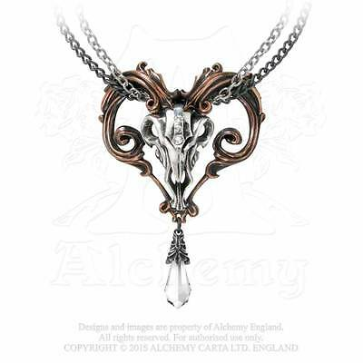 Alchemy Gothic Amon-Ra Pendant Necklace - Goth,Gothic,Punk,Metal,Pewter,Jeweller