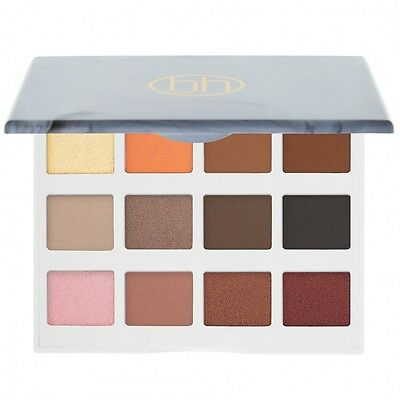 Marble Collection - Warm Stone - 12 Farben Lidschatten Palette von BH Cosmetics
