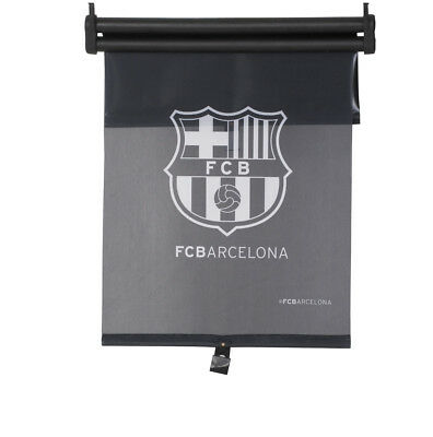 FC Barcelona Two Layer Roller Car Window Sunshade Blind 43X50cm Official