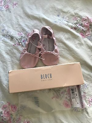 Bloch Toddler Kids Pink Size 10D Bunnyhop Ballet Slippers