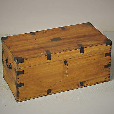 Campaign Chest - Camphor Wood, Antique, C1800 (delivery available)