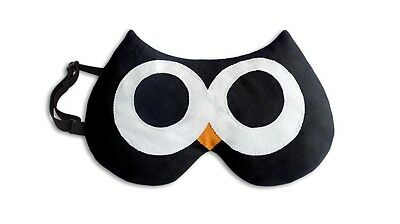 Black Stella Owl Unscented Chill & Heat Soothing Eye Mask In Presentation Box