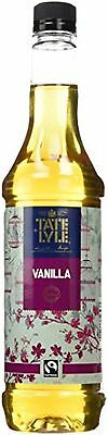 Tate And Lyle Fairtrade Vanilla Coffee Syrup 750ml