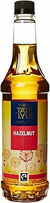Tate And Lyle Fairtrade Hazelnut Coffee Syrup 750ml