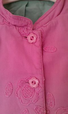 Girls Laura Ashley Suit Age 6,Pink,Cotton,Floral,Cute,Vgc!