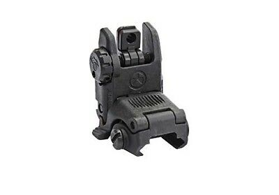 Magpul , MBUS Back Up Sight, Gen 2, Fits Picatinny, Black, Rear, Flip Up