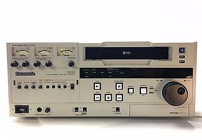 Panasonic AG-7650-P Professional Super VHS Video Cassette Player Recorder Editor