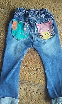 Girls next jeans 3-4