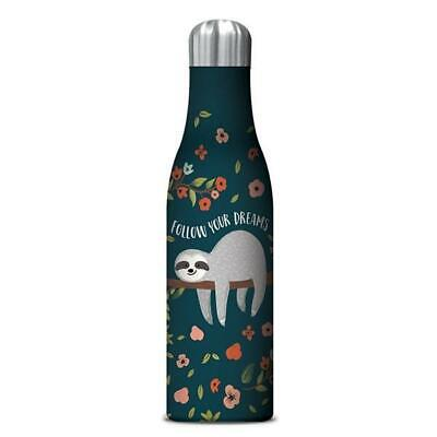 NEW STUDIO OH  |  Insulated Water Bottle 500ml - Dreams Sloth Studio Oh! Botanex