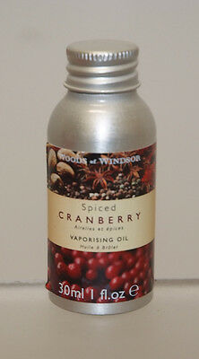 Woods Of Windsor Spiced Cranberry Vaporising Oil 30 Ml Olio Essenziale Huile
