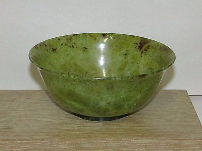 Old or Antique Chinese Jade or Hardstone Bowl