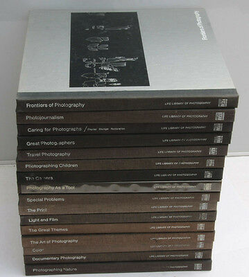 Time Life Library of Photography 1970's Hardcover 16 Assorted Titles - USED DT
