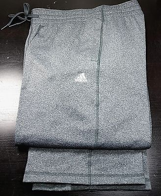 New! ADIDAS ClimaWarm- Gray, Athletic Performance Warm-Up/Sweat Pants- (XL)