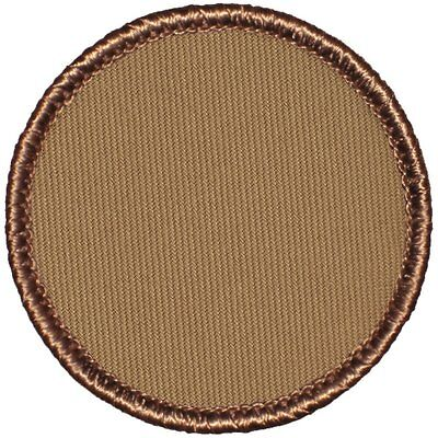 "2"" Diameter Round - (999) Blank Boy Scout Patrol Patches"