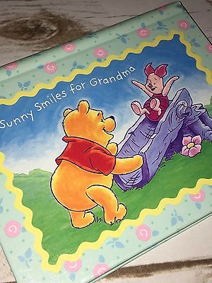 Hallmark Winnie the Pooh Piglet Grandma's Photo Album Baby Kids Brag Book