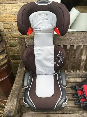 Graco Car Seat Red Junior Maxi Lyon Group 2-3 High Back Booster Age 4+ chair